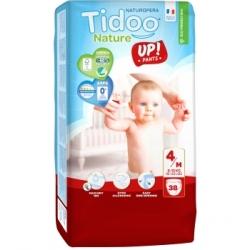 Tidoo 38 Culottes d'Apprentissage MAXI (T4)  8/15kg x38 produit de change du bébé Les Copines Bio