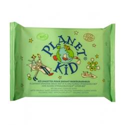 Planet Kid 40 Lingettes Enfants Amande Douce Hamamélis x40 Produit d'Hygiène pour le change de bébé Les Copines Bio