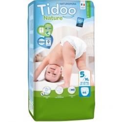 Tidoo 46 Couches Jumbo Pack (T5/XL) 12/25kg x46 Produit d'Hygiène pour le change de bébé Les Copines Bio