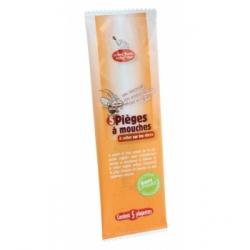 Droguerie Ecologique 5 pièges à mouches avec attractif 3g x5 produit insecticide naturel Les Copines Bio