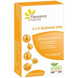 Fleurance Nature A C E sélénium zinc 30 comprimés Complément alimentaire Les Copines Bio