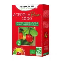 Phyto-Actif Acérola Bio 1000 AB 24 comprimés Complément alimentaire Les Copines Bio