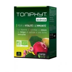 Sante Verte Acérola Bio 1470 20 Comprimés Complément alimentaire Santé Les Copines Bio
