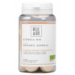 Belle et Bio Acérola Bio 64g 30 comprimés Complément alimentaire Les Copines Bio