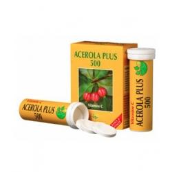 Phyto-Actif Acérola Plus 500 naturelle Boite de 2 tubes de 15 comprimés x30 Complément alimentaire Les Copines Bio
