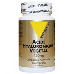 Vit'all + Acide Hyaluronique Végétal 150mg 30 comprimés Complément alimentaire Les Copines Bio