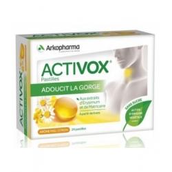 Arkopharma Activox Miel Citron 24 pastilles Complément alimentaire Santé Les Copines Bio