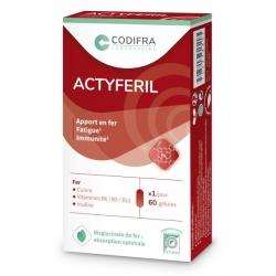 Codifra Actyferil 60 gélules Complément alimentaire Les Copines Bio