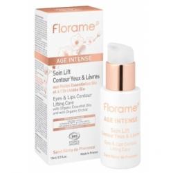 Florame Age intense Soin lift contour yeux et lèvres 15ml produit de soin Anti-âge Les Copines Bio