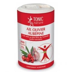 Tonic Nature Ail + Olivier + Aubépine 200 capsules Complément alimentaire Les Copines Bio