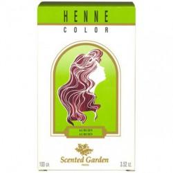 Henné Auburn Scented Garden coloration capillaire les copines bio