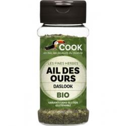 Cook Ail des ours coupé 16 gr Condiment bio Les Copines Bio
