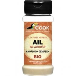 Cook Ail en poudre 45 gr Condiment alimentaire Les Copines Bio