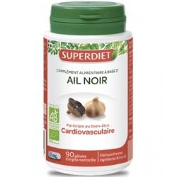 Super Diet Ail noir bio 90 capsules Complément alimentaire Santé Les Copines Bio