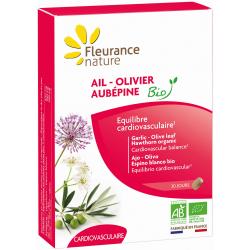 Fleurance Nature Ail Olivier Aubépine Bio 60 comprimés Complément alimentaire Les Copines Bio