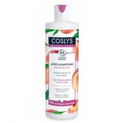 Coslys Après shampoing Dermo Sens Haute Tolérance Feuille de pêcher 250ml produit de soin pour les cheveux Les Copines Bio