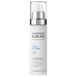 Anne Marie Borlind Aquanature Sérum hyaluronique hydratant revitalisant 50ml produit de soin pour le visage Les Copines Bio