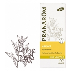 Pranarôm Huile d'Argan bio Flacon 50ml produit de soin pour la peau Les Copines Bio