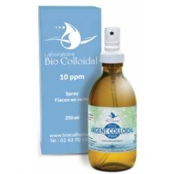Bio Colloidal Laboratoire Argent Colloïdal 10 PPM Spray 250ml produit à usage cosmétique et externe Les Copines Bio