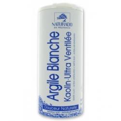 Naturado Argile blanche Kaolin pot 300gr produit de soin du visage et du corps Les Copines Bio
