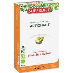 Super Diet Artichaut Bio 20 ampoules de 15ml Complément alimentaire Les Copines Bio