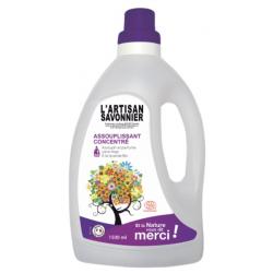 L'artisan savonnier Assouplissant Concentré Lavandin  1,5L produit d'entretien ménager Les Copines Bio