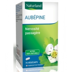 Naturland Aubépine 75 gélules végécaps Complément alimentaire Les Copines Bio