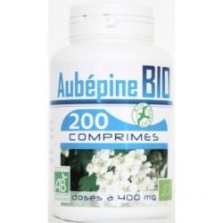 GPH Diffusion Aubépine bio 400mg 200 comprimés Complément alimentaire Les Copines Bio