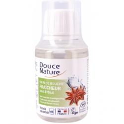 Douce Nature Bain de bouche fraîcheur à l'anis étoilé 100ml produit de soin bucco-dentaire Les Copines Bio