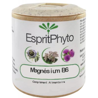 EspritPhyto - Magnésium B6 - 90 gélules stress nervosité les copines bio