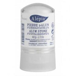 Alepia Pierre d'Alun en stick 60 gr - déodorant minéral lescopinesbio