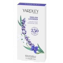 Coffret 3 savons English Lavender 3 x 100gr les copines bio