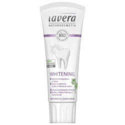 Lavera Dentifrice whitening blanchissant bambou et fluorure 75 ml  - dentifrice bio les copines bio