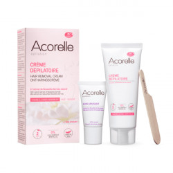 Crème dépilatoire visage & zones sensibles