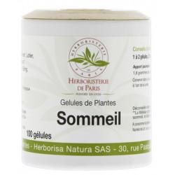 Herboristerie de Paris Sommeil Action 5 Plantes 100 gélules  5 plantes relaxantes destressantes rhodiola les copines bio