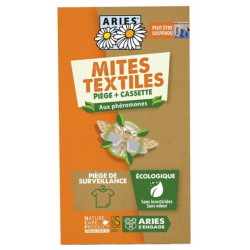 Aries Piège à Mites textiles Mitbox x1 pièce anti mites par phérormones Les copines bio