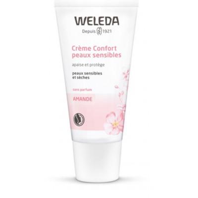Weleda Crème confort absolu à l'amande - 30 ml - Peaux sensibles Les copines bio