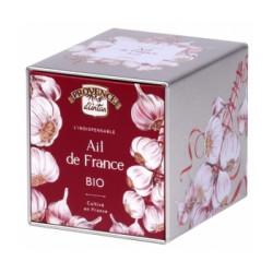 Provence D'Antan Ail bio origine France coffret métal 60g Les Copines Bio