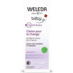 Weleda Crème pour le Change Bébé Derma Mauve 50ml les copines bio