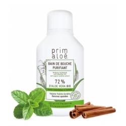 Prim Aloe Bain de bouche purifiant 250ml produit de soin bucco-dentaire Les Copines Bio