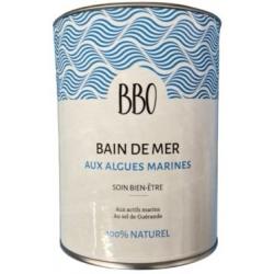 Bio Bretagne Ocean Bain de mer au sel de guérande 100 pour cent naturel 800gr produit d'hygiène pour la douche et le bain Les Co