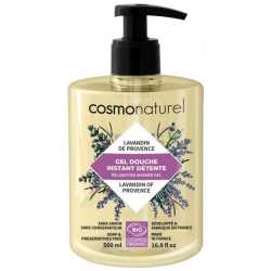 Cosmo Naturel Bain douche Lavandin de Provence Lavande Romarin 500ml produit d'hygiène pour la douche et le bain Les Copines Bio