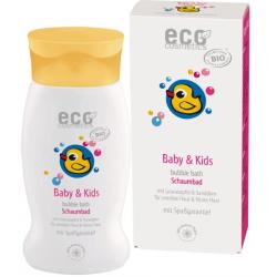 Eco Cosmetics Bain moussant bébé Argousier et Grenade 200ml Produit d'hygiène corporelle pour les enfants et les bébés Les Copin