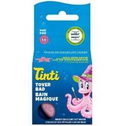 Tinti Balle Effervescente Bain Magique Rose  55g produit de soin pour le corps Les Copines Bio