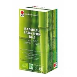 Vecteur Sante Bambou tabashir bio 120 gélules complément alimentaire Les Copines Bio