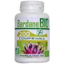 GPH Diffusion Bardane bio 400mg 200 comprimés complément alimentaire Les Copines Bio