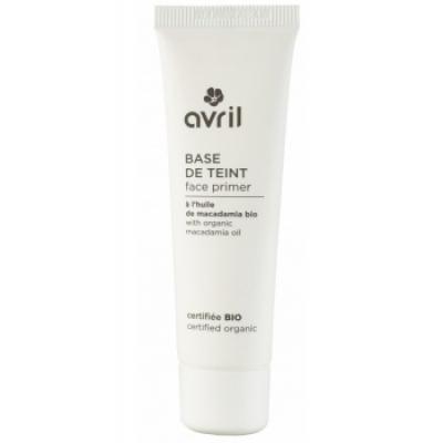 Avril Beauté Base minéral pour le Teint Face Primer 30ml produit de maquillage minéral pour le Teint Les Copines Bio
