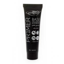 Purobio Cosmetics Base minéral pour le Teint pour peau grasse 30gr produit de maquillage minéral pour le Teint Les Copines Bio