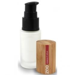 Zao Make up Base de teint lumière blanche 700 30ml produit de maquillage minéral pour le Teint Les Copines Bio