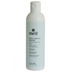 Avril Beauté Base lavante neutre 240ml produit de Soin du visage Les Copines Bio